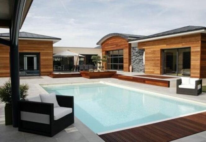 photos de piscines design quand les piscines deviennent. Black Bedroom Furniture Sets. Home Design Ideas