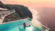 Une piscine de rêve au Edge Resort à Bali