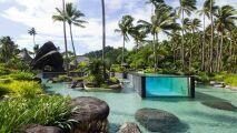 Une piscine de rêve : Hôtel Laucala Island aux Îles Fidji