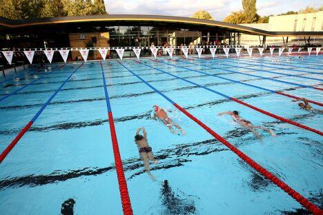 """Piscine du MON à Mulhouse - Centre d'entraînement et de formation à la natation de haut-niveau<span class=""""normal italic petit"""">© Ville de Mulhouse</span>"""