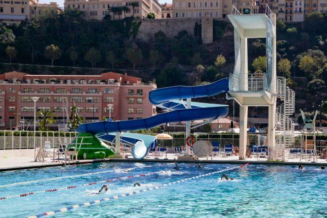 Piscine du stade Nautique Rainier III à Monaco