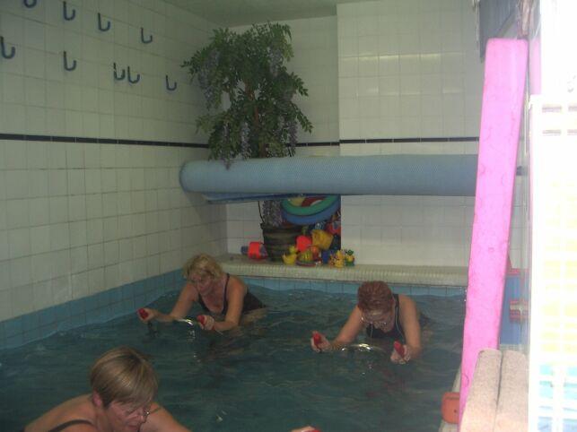 Piscine St Gauderique à Perpignan : l'aquabiking
