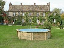 La piscine en bois d'occasion : réaliser des économies