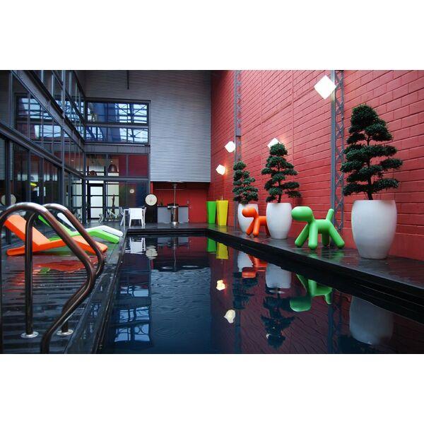 Une piscine en inox installation et prix - Prix d une piscine en inox ...