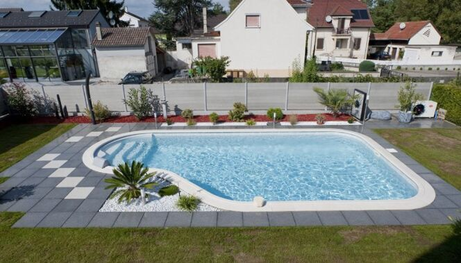 Piscine en kit cl a de waterair for Piscine enterree en kit