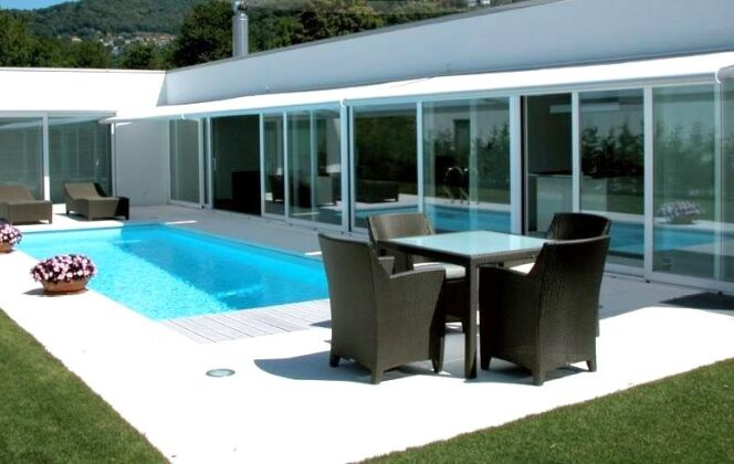 Modèle de piscine Evolutive © Piscines Groupe G.A