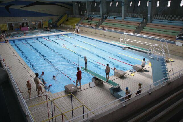 Les plongeoirs de la piscine Foch à Brest