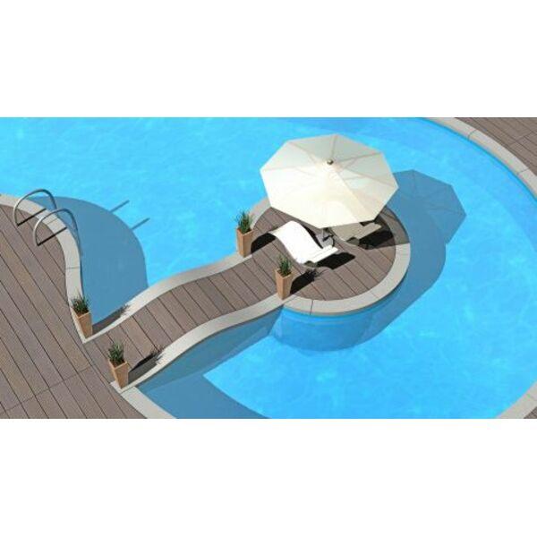 Les piscines aux formes les plus originales for Calcium plus pour piscine