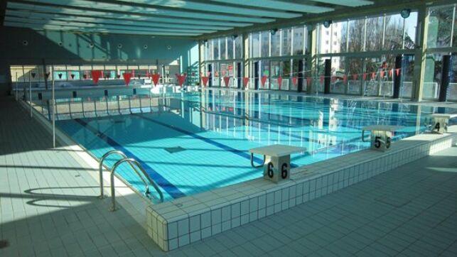 Piscine Gagarine à Villejuif : le bassin intérieur
