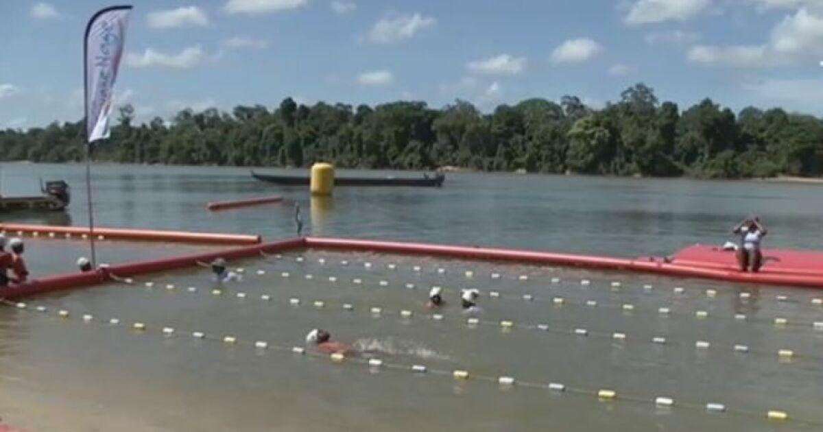 Un belle initiative pour apprendre nager aux enfants en for Piscine pour apprendre a nager