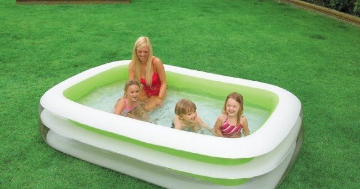 Piscine gonflable rectangulaire intex for Piscines gonflables