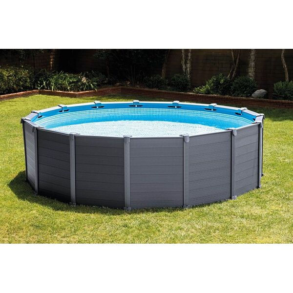 A chacun sa piscine avec intex for Piscine graphite intex