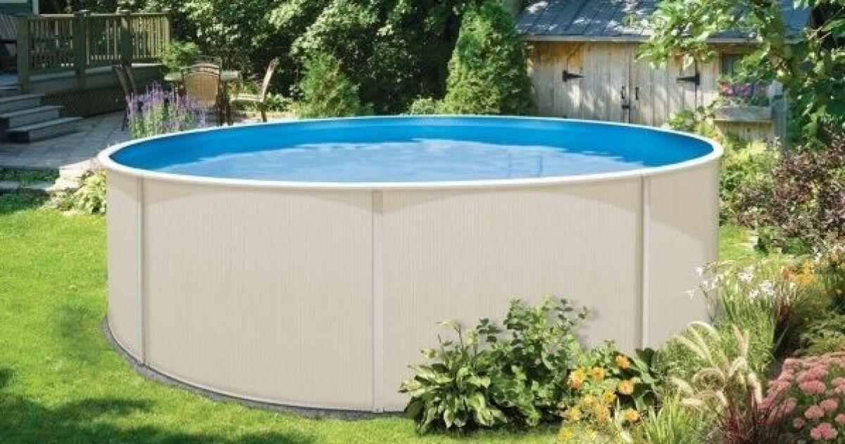 laissez vous tenter par une piscine hors sol acier