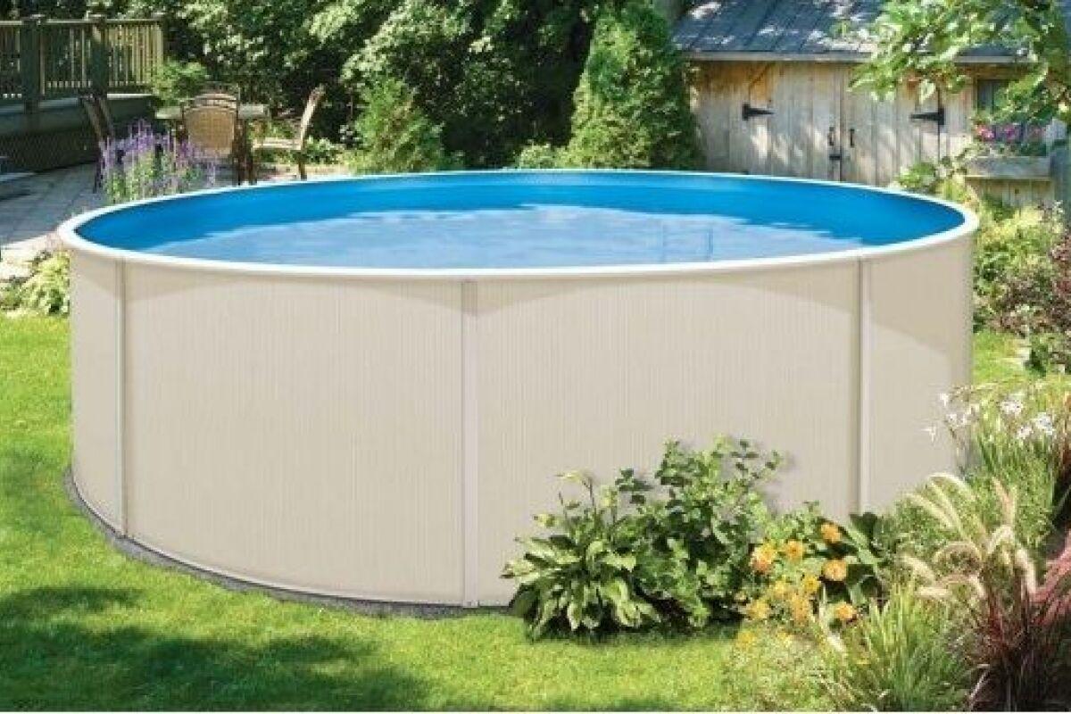 Voir Piscine Hors Sol laissez-vous tenter par une piscine hors sol acier : durable