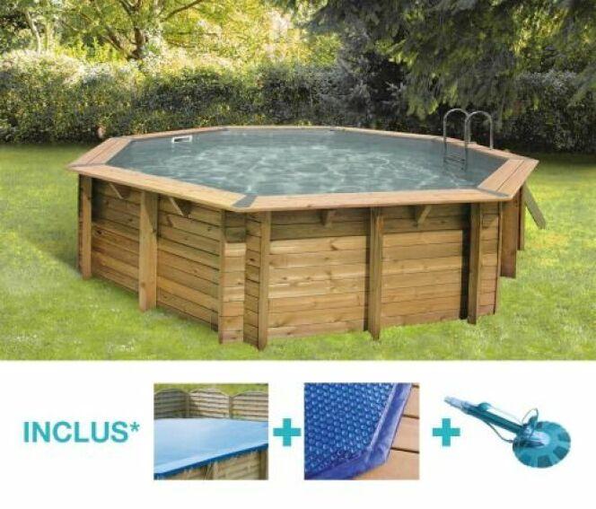 piscine hors sol bois ronde bahia piscine hors sol hydro sud direct. Black Bedroom Furniture Sets. Home Design Ideas