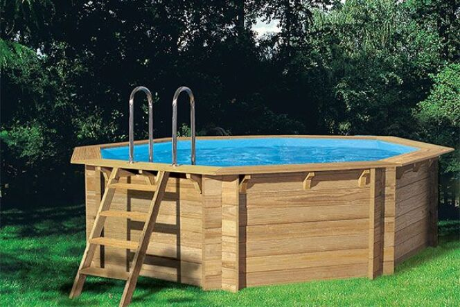 photos des plus belles piscines hors sol en bois piscine hors sol en bois woodfirst. Black Bedroom Furniture Sets. Home Design Ideas