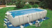 Ultra Silver par Intex : une grande piscine sans travaux