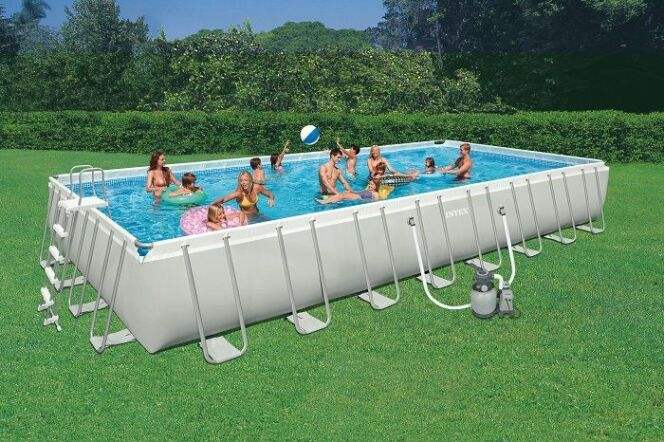 Piscine hors-sol Intex Ultra Silver