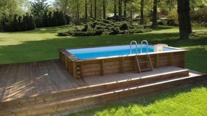 """Ils existe différents types de piscines hors sol plus ou moins solides et durables.<span class=""""normal italic petit"""">© Sunbay</span>"""