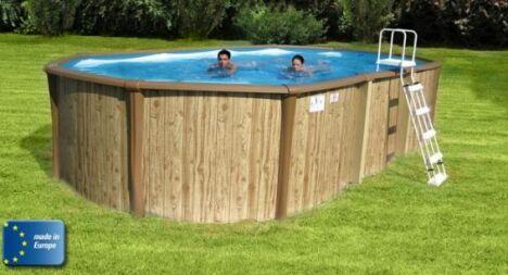 "Piscine hors-sol ""Madera"" de Poolmaster<span class=""normal italic petit"">© Poolmaster</span>"