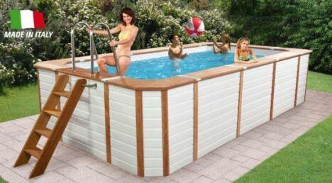 "Piscine hors-sol ""Oasi"" de Poolmaster<span class=""normal italic petit"">© Poolmaster</span>"