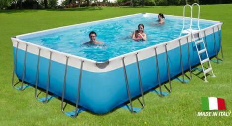 "Piscine hors-sol ""Tropic"" de Poolmaster<span class=""normal italic petit"">© Poolmaster</span>"