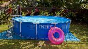 La piscine tubulaire : une piscine hors sol vendue en kit