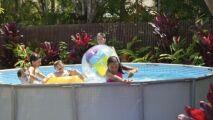 Intex propose sa piscine Ultra Frame, robuste et conviviale