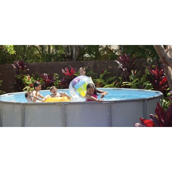 Intex propose sa piscine ultra frame robuste et conviviale for Piscine hors sol ultra frame