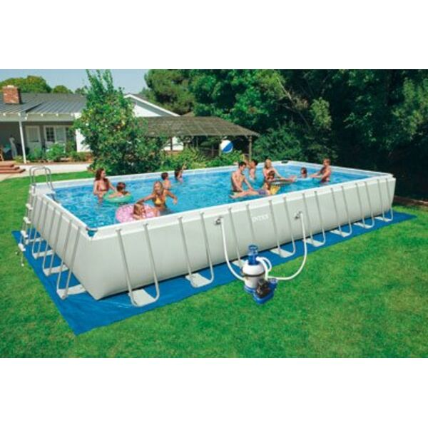 Piscine hors sol ultra silver for Piscine hors sol ultra frame