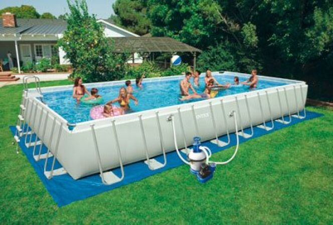 Piscine hors-sol Ultra Silver© Intex