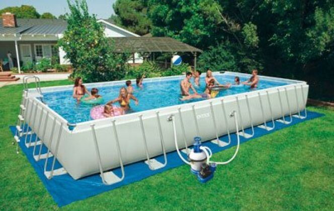 Piscine hors-sol Ultra Silver © Intex