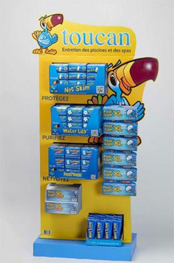"""Piscine Innovations : le présentoir Toucan récompensé !<span class=""""normal italic petit"""">© Toucan</span>"""