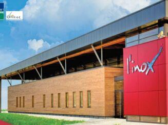 La piscine l'inoX est ouverte depuis octobre 2010