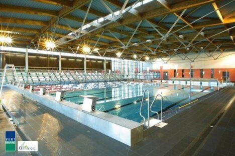 """La piscine l'inoX est équipée de ligne d'eau pour le confort des nageurs<span class=""""normal italic petit"""">DR</span>"""