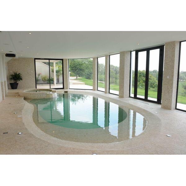 La piscine int rieure par diffazur - Piscine semi interieur exterieur ...
