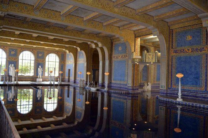 Piscine intérieure du Hearst Castle