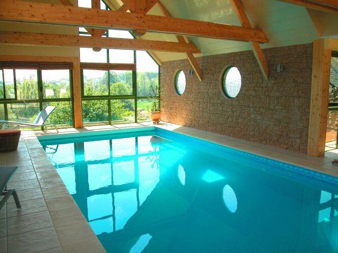 Les plus belles photos de piscines int rieures avec baie for Reve bleu piscine
