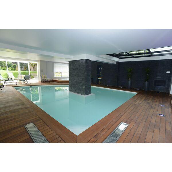 piscine int rieure forme libre piscines de france. Black Bedroom Furniture Sets. Home Design Ideas