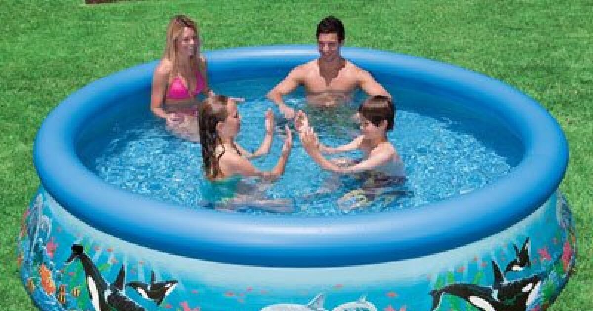entretien piscine intex easy set