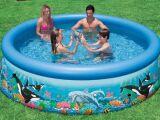 Une piscine Intex autoportante : une marque renommée de piscine