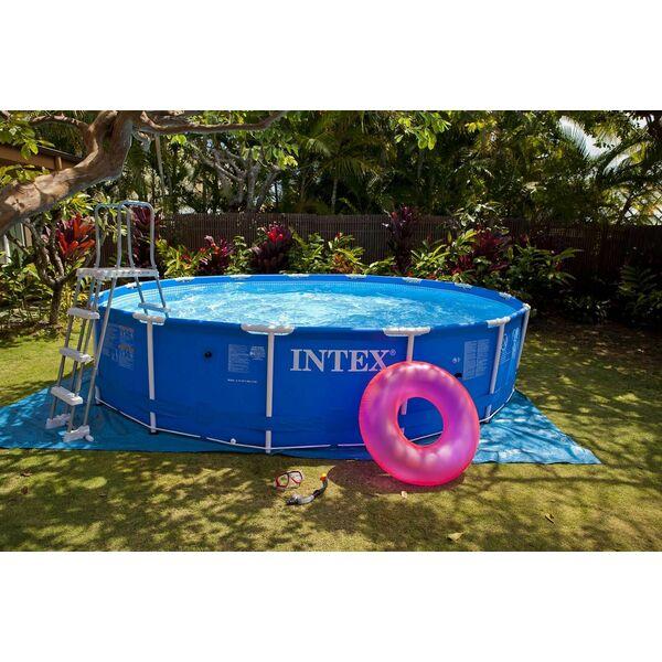 La piscine intex tubulaire un mod le r sistant et conomique - Petite piscine tubulaire ...
