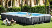 Zoom sur le modèle de piscine Ultra XTR d'Intex