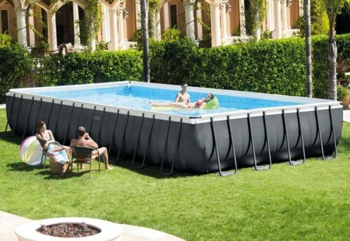 Zoom sur le mod le de piscine ultra xtr d intex guide - Piscine tubulaire castorama ...
