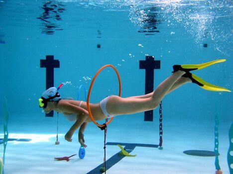 """La piscine à Frontignan organise différentes animations pour adultes et enfants<span class=""""normal italic petit"""">© ville frontignan</span>"""