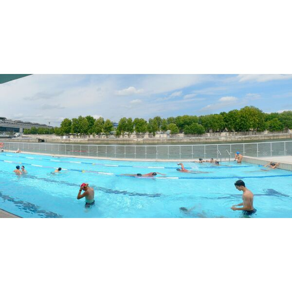 Piscine jos phine baker paris 13e horaires tarifs for Aquagym piscine paris
