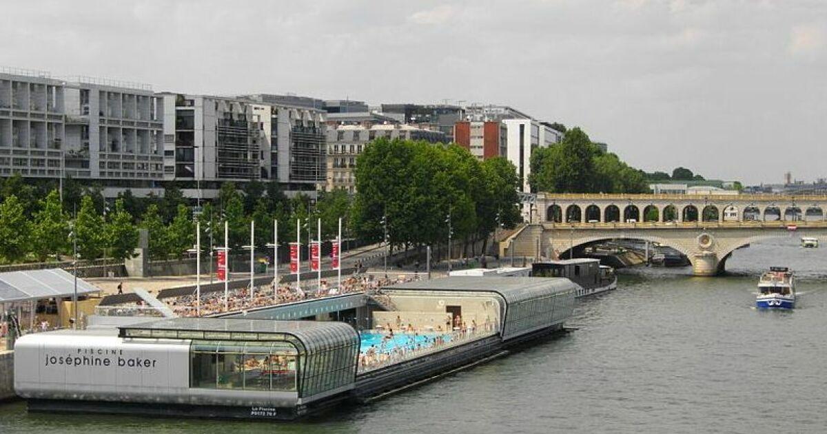 Les piscines flottantes for Piscine privee paris