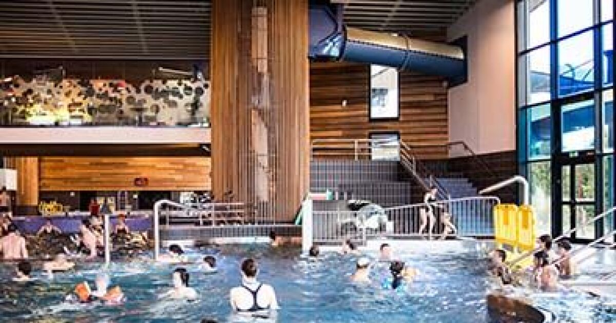 Piscine l 39 aquarelle sainte m nehould horaires tarifs for Construction piscine 25m