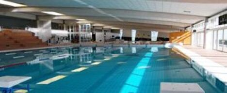 """Le bassin sportif de la piscine Le Dôme à Laon<span class=""""normal italic petit"""">DR</span>"""