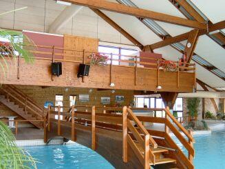 Vue intérieure de la piscine Le Nautilud à Barlin